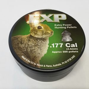 EXP .177 hunting pellets