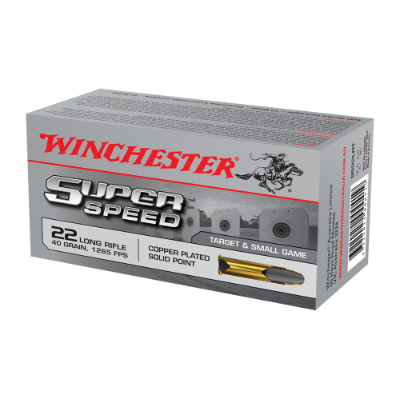 Winchester Super Speed .22LR ammunition