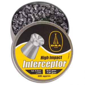 BSA .177 Interceptor pellets