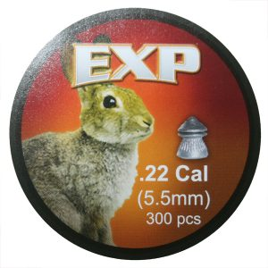 EXP .22 Cal Air Rifle Pellets