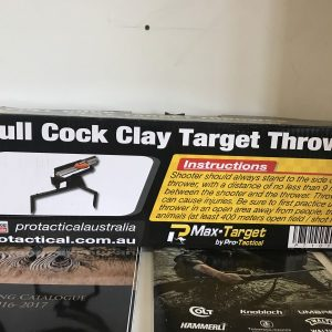 Pro-tactical full cock clay thrower
