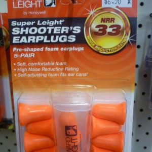 Shooter's earplugs
