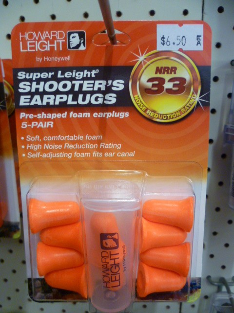 Shooter's earplugs