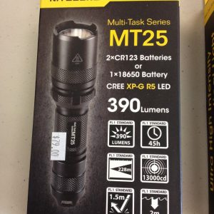 NITECORE MT25 LED TORCH
